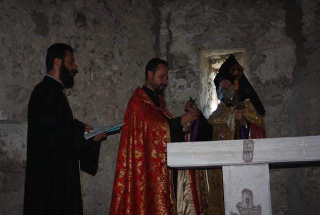 Iglesia del siglo XVII reconsagrada en Artsaj