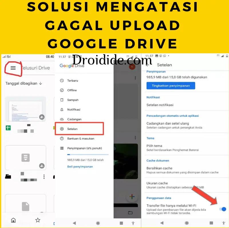 29+ Cara Upload Foto Ke Google Drive Sekaligus mudah