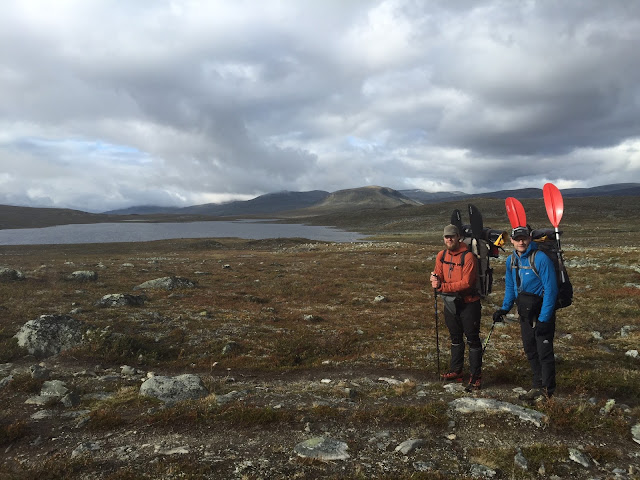Lapland packrafting