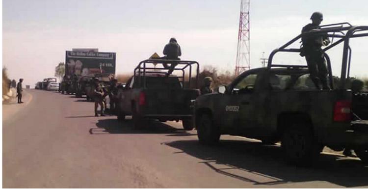"""Los """"huachicoleros"""" les están pegando fuerte se enfrentan de nuevo Ejército hay 8 militares heridos"""
