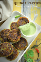 Quinoa Patties (VEGAN & Gluten free