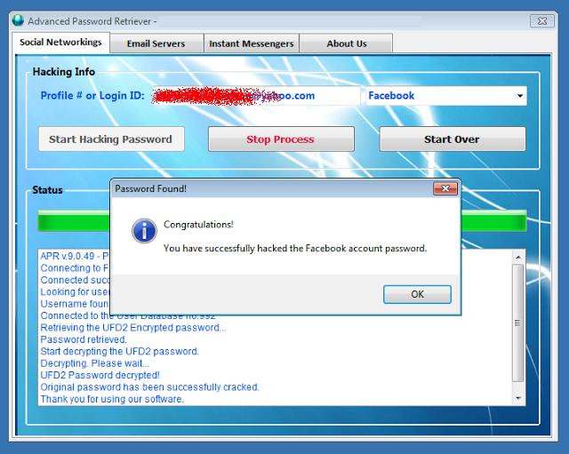Download Free Facebook Hacking Software: Advance Facebook