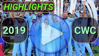 ICC CWC 2019 Video Highlights