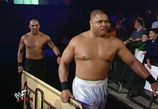 WWE / WWF - No Mercy 2000 - Chaz and D'Lo Brown competed in The Dudley Boyz Invitational Tables Match