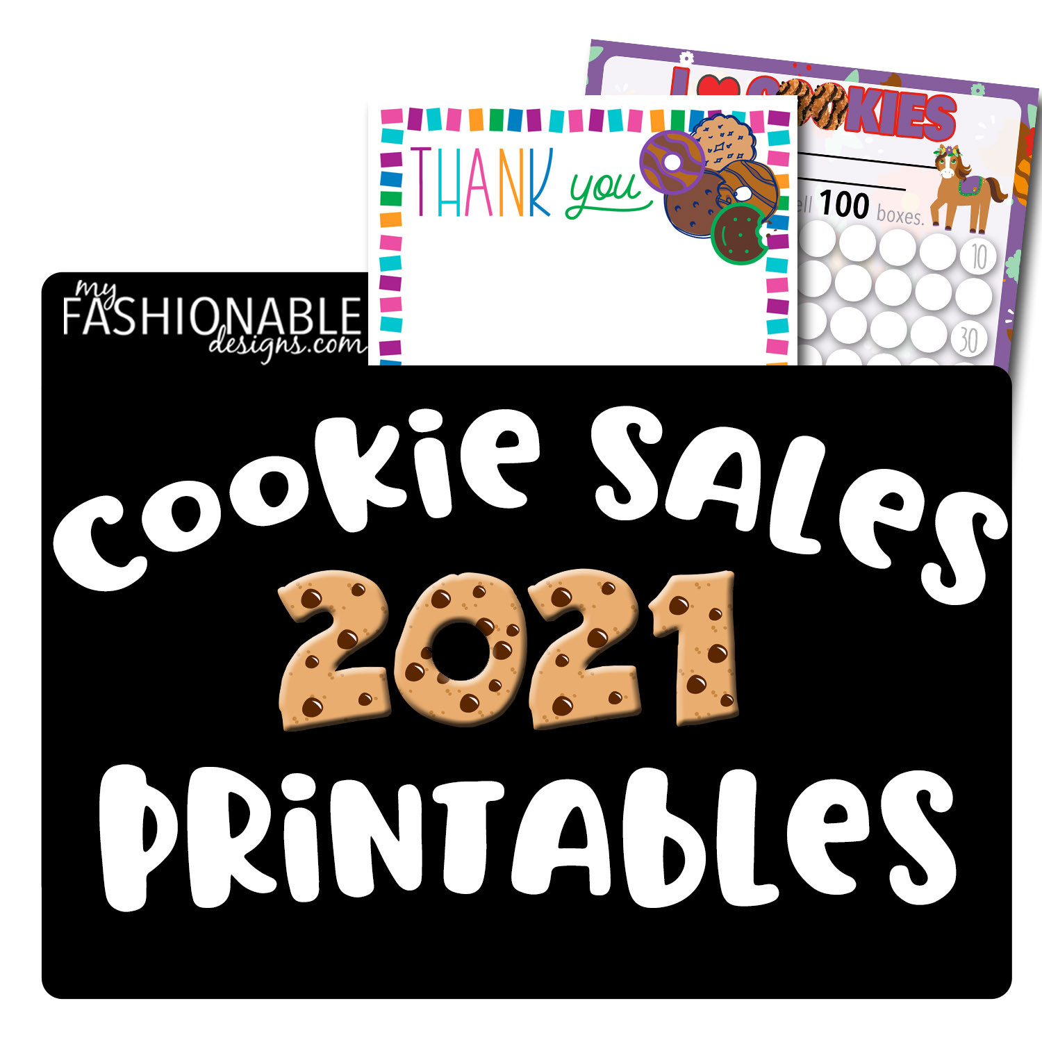 2021 Cookie Sales Printables