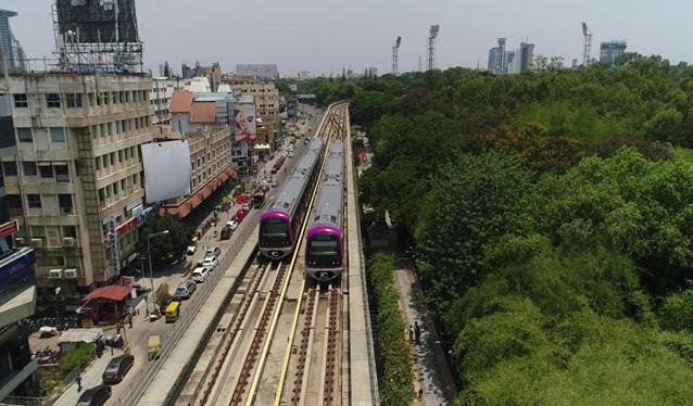 Bagalore Metro acquires land for Silk Board-KR Puram Metro Corridor