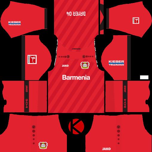 Bayer Leverkusen 2019/2020 Kit - Dream League Soccer Kits