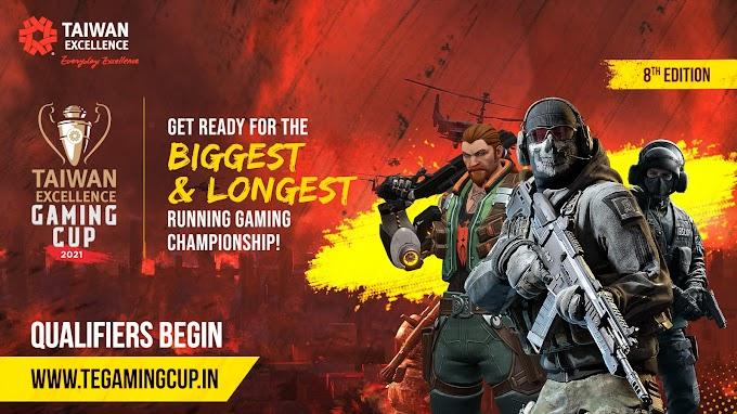 ई-स्पोर्ट्स चैम्पियनशिप ताइवान एक्सीलेंस गेमिंगकप के आठवें एडिशन के क्वालिफायर राउंड्स 16 सितंबर से शुरू होंगे