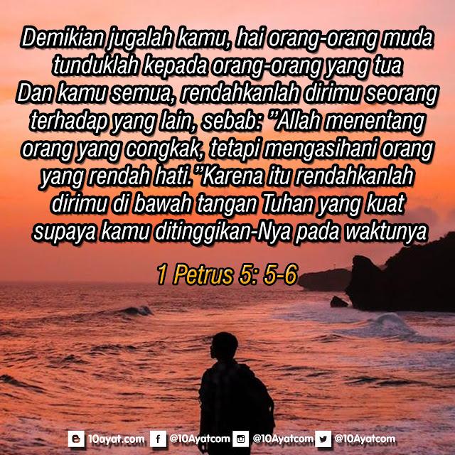 1 Petrus 5: 5-6