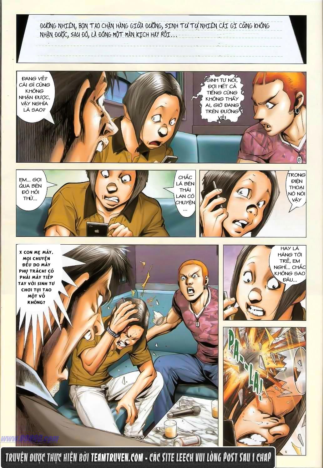 Người Trong Giang Hồ NetTruyen chap 1362 - Trang 6