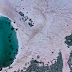 Reportan misteriosa aparición de hielo rosa en los Alpes italianos