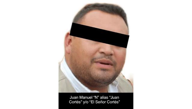 """Capturan a """"El señor Cortez"""" jalaba con El Mencho y ahora jalara algo más en prisión"""