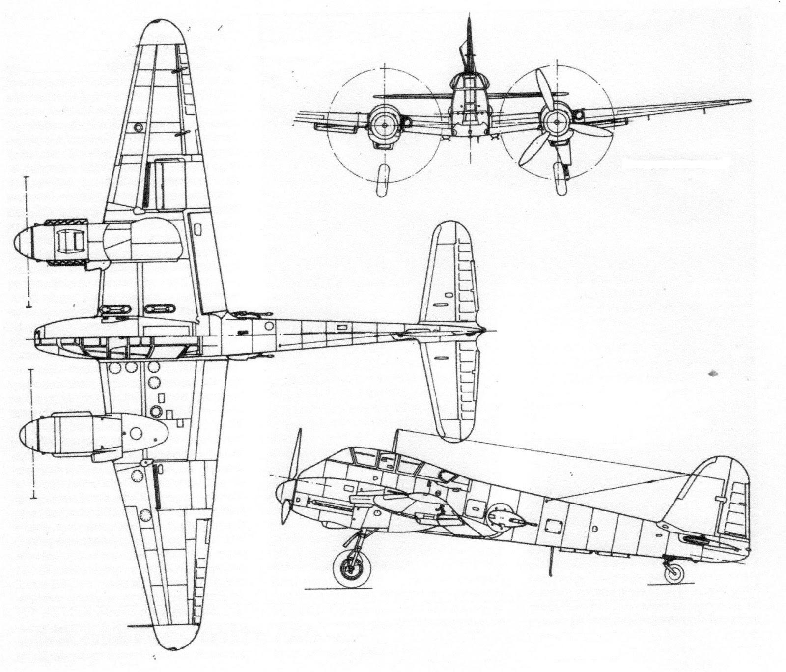 German Aircraft Of Wwii The Messerschmitt Me 210