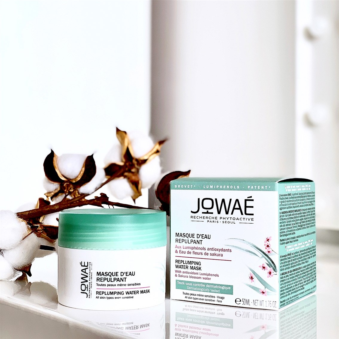Jowae Replumping Water Mask blog