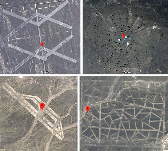 Mistério do deserto de Gobi - estruturas reveladas pelo Google Earth - Img 1