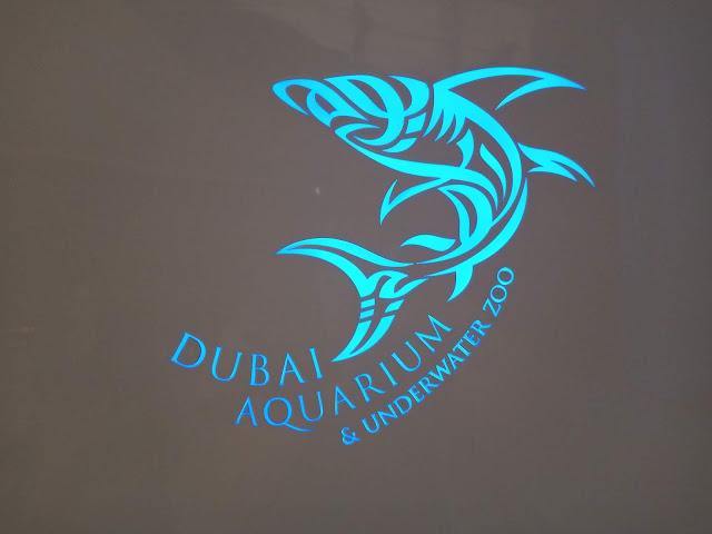 Emiratos Árabes - El Acuario de Dubai