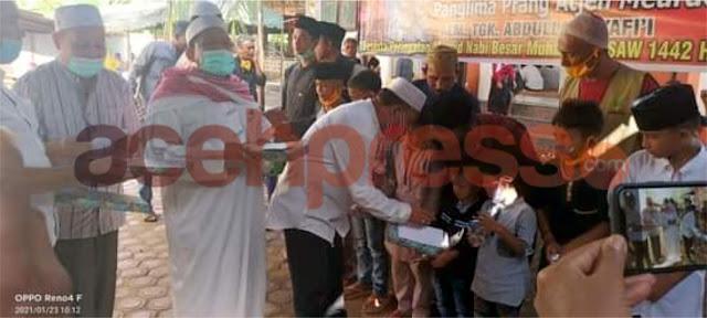 Bupati H.Aiyub Abbas Hadiri Haul Teungku Abdullah Syafii di Cubo Pijay