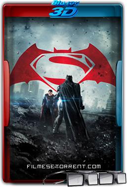 Batman vs Superman - A Origem da Justiça Torrent 2016 1080p 3D Half-SBS