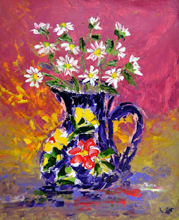 http://www.ebay.com/itm/Jug-of-Daisies-Contemporary-Floral-Oil-Painting-on-Paper-Artist-France-2000-Now-/291843441172?ssPageName=STRK:MESE:IT