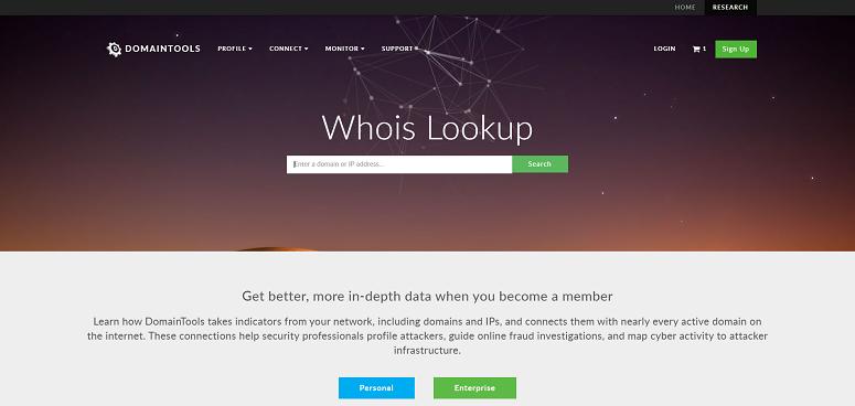 situs Whois Lookup