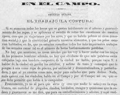 Fragmento del texto publicado en La Luz del Porvenir