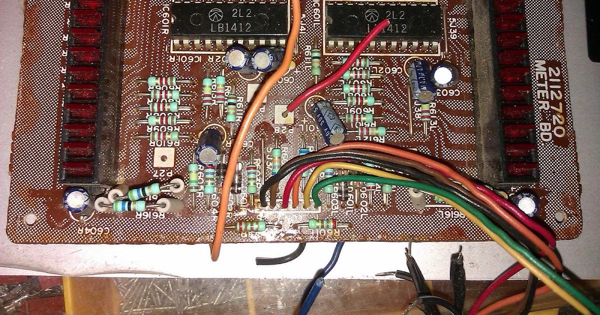 Nerdstuff Reuse Scrapped Vu Meter As Voltage And Ampere