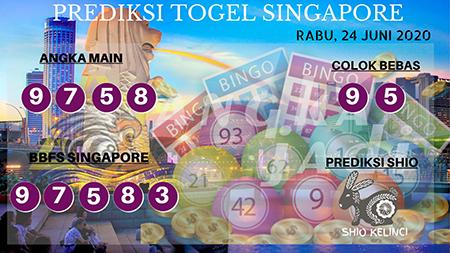 Prediksi Togel Singapura Angka Jadi Rabu 24 Juni 2020