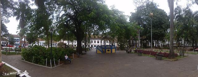 Praça Gomes Freire, Mariana, Minas Gerais