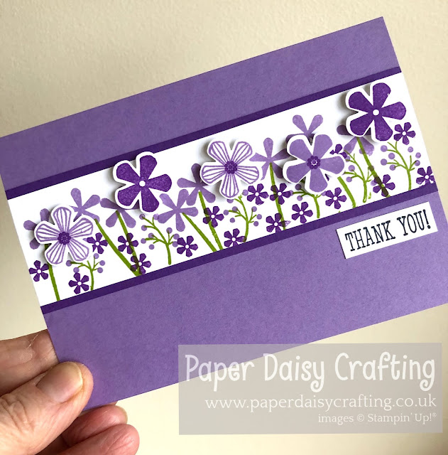 Thoughtful Blooms, Small Bloom punch Stampin Up