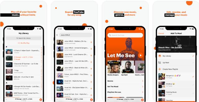 Ứng dụng này giúp bạn nghe nhạc tắt màn hình trên Youtube