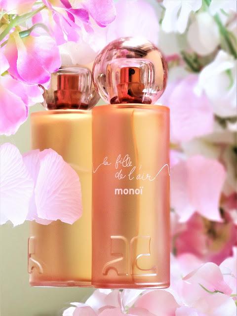 avis la fille de l'air monoi courreges, parfum femme monoi, parfum femme fleur d'oranger, avis parfum la fille de l'air, meilleur parfum femme été
