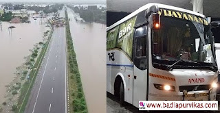 Mumbai (Maharashtra Development Media) - Due to the flood situation in Konkan along with West Maharashtra in the state of Maharashtra, all travel buses from Mumbai to Satara, Sangli, Kolhapur and towards Konkan and Goa have been canceled. Due to which the migrants now do not see any way to go to their village. Until the situation is not right, there will be no shortage of traffic on the roads till then the movement of all vehicles will remain closed in this manner. Since Monday, the movement of all these vehicles has been stopped due to these routes, due to which the migrants as well as the private bus owners are suffering huge losses. Please tell that vehicles going towards Kolhapur, Satara, Sangli are being run with Pune. How many Heroes vehicles have been canceled?  - A total of 900 primate buses from Mumbai to Ratnagiri, Sindhudurg Kokan areas have been canceled. - 300 vehicles from Mumbai to Kolhapur, Satara, Sangli have been canceled. - 300 vehicles from Mumbai to Bangalore, Belgaum have been canceled. 200 vehicles from Mumbai to Goa have been canceled.