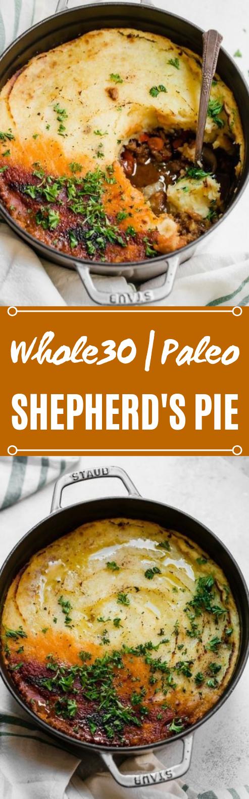 Whole30 Paleo Shepherd's Pie #healthy #recipes