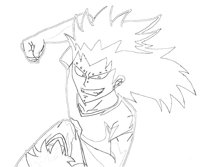 strong coloring pages - gajeel gajeel strong jozztweet