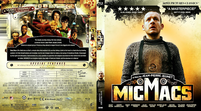 Micmacs (Mic Macs à Tire-Larigot) Bluray Cover