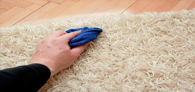 تنظيف السجاد في مكانه بطرق سهله وبأدوات منزلية متوفره