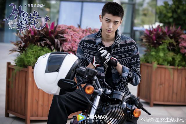 my girlfriend is an alien chinese web series  Wang Youjun