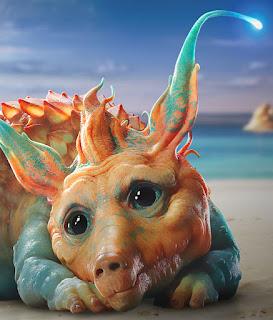 Ceci est un critter, petit animal qui chie des perles dans le film Valérian de Luc Bessson