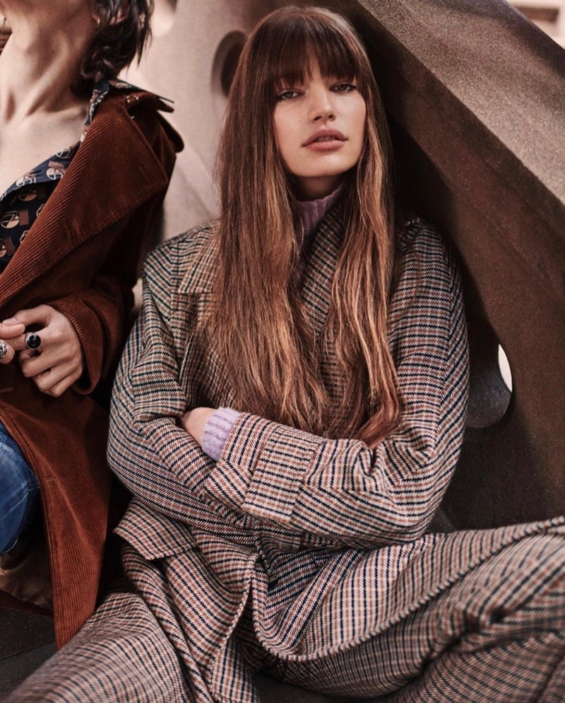 Editorial de moda da Vogue Japan de agosto de 2019