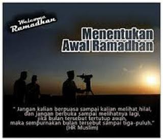 Cara menentukan awal dan akhir Ramadhan - berbagaireviews.com