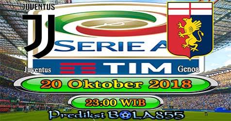 Prediksi Bola855 Juventus vs Genoa 20 Oktober 2018