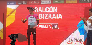 Michael Woods Stage Winner on the Balcón de Bizkaia - 2018 Vuelta a España