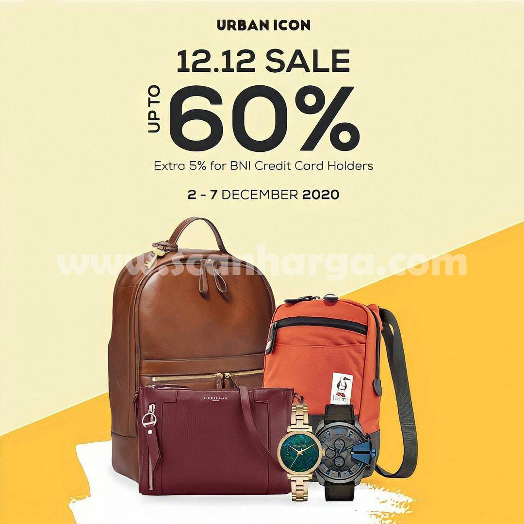 Promo Urban Icon 12.12 Sale Disc Up To 60% Off*