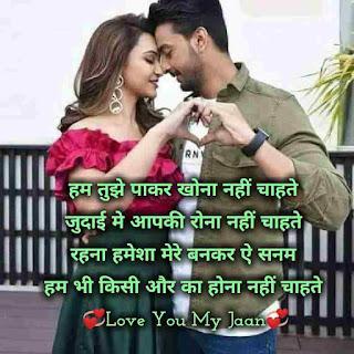 Husband and wife love status and shayari in hindi