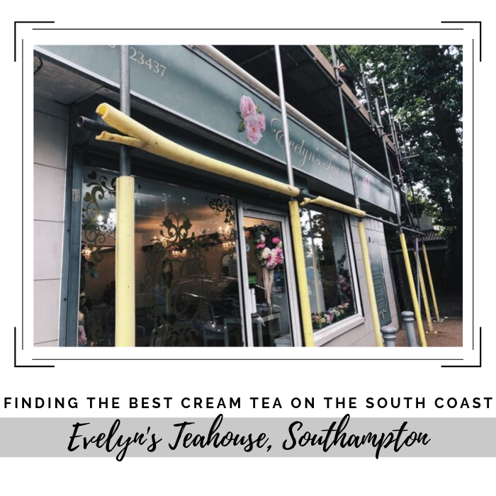 Finding the best cream tea on the south coast - Evelyn's Tea House, Southampton.