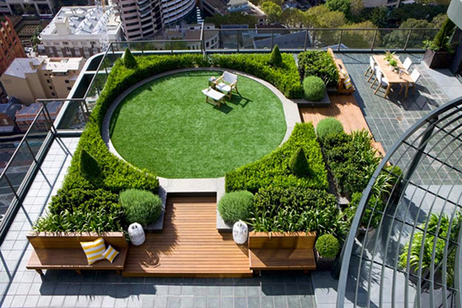 The Rooftop Gardens As The Name Suggests Are Small Trees And Shrubs Planted  Above The Soil Level. It Can Be Either In A Terrace Or The Roof.