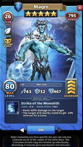 Magni Costume Hero Card