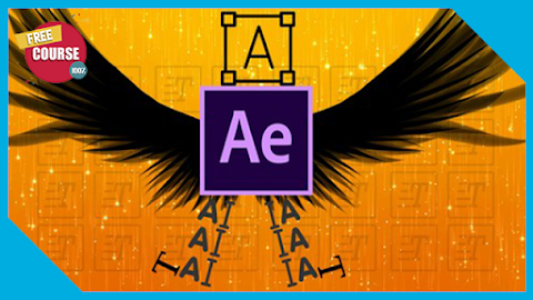 Typography Animation Tutorial in After Effects 100% Free Course
