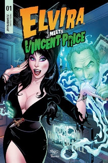 Elvira Meets Vincent Price from Dynamite Entertainment cover #1c