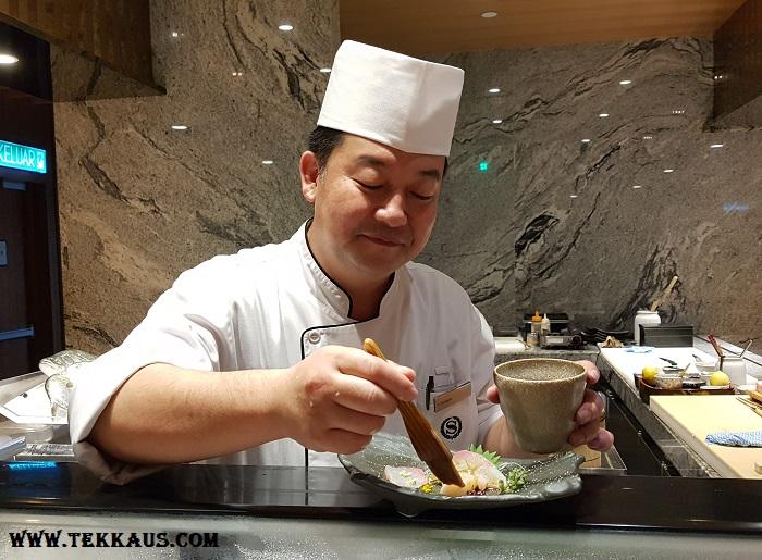 Miyabi Sheraton PJ-Omakase Review Menu
